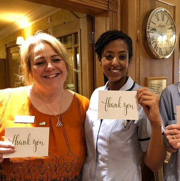 Headingley Hall staff - Professional Care Worker Day