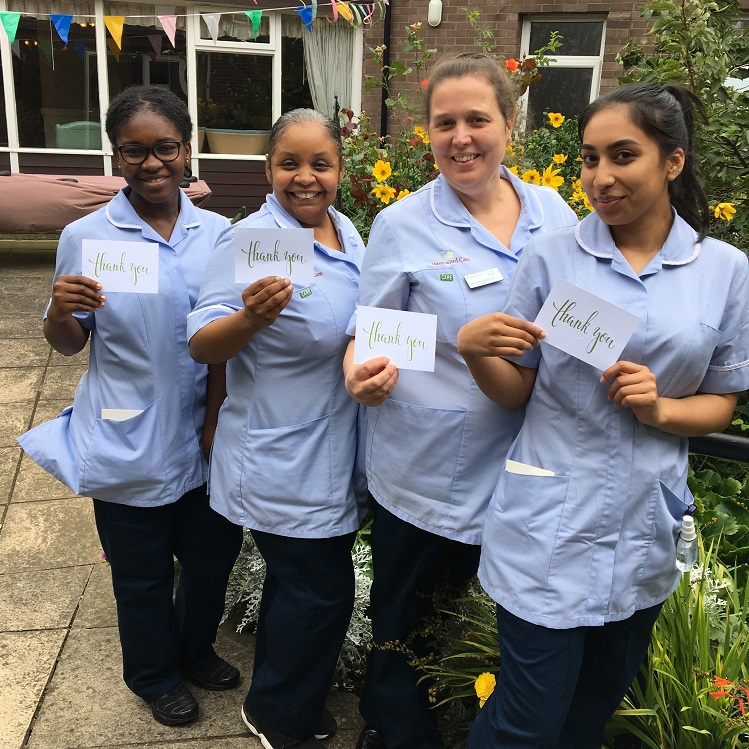 Pennington Court staff - Professional Care Worker Day
