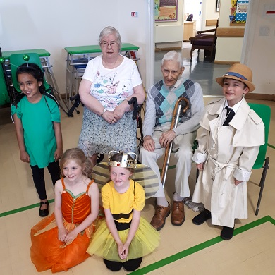 A Special Visit from the Children of Rose Court