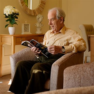 Southlands Resident Reading - Westward Care