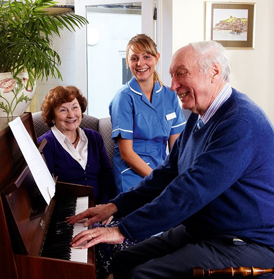 Singing together - Westward Care